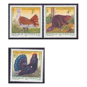 オーストリア切手