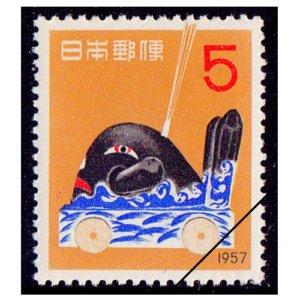 年賀切手-だんじり(S32用)