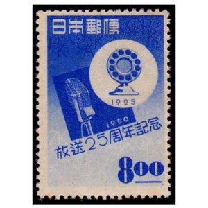 放送25年周年記念切手