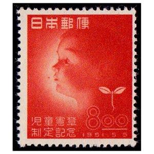 児童憲章制定記念切手