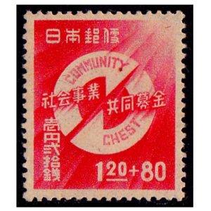第1回社会事業共同募金記念切手
