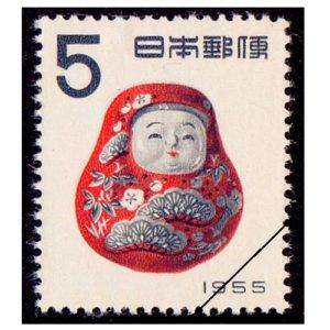 年賀切手-加賀起き上がり(S30用)