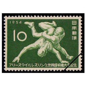 フリースタイルレスリング世界選手権記念切手