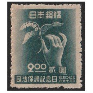 司法保護記念日記念切手