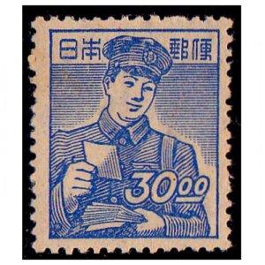 産業図案切手30円(郵便配達)